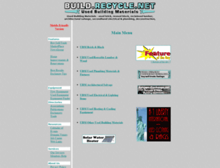 build.recycle.net screenshot