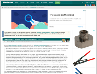 build.slashdot.org screenshot
