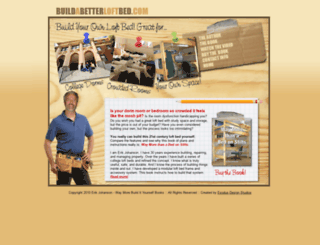 buildabetterloftbed.com screenshot