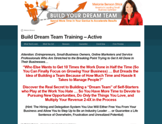 builddreamteam.com screenshot