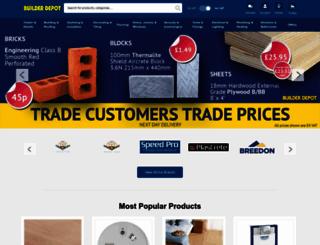 builderdepot.co.uk screenshot