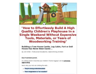 buildingaplayhouse.com screenshot