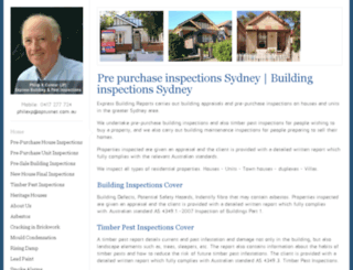 buildingreports.com.au screenshot