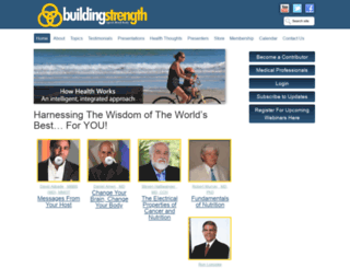 buildingstrengthwebinars.com screenshot