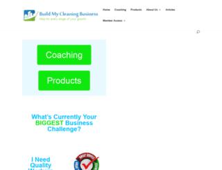 buildmycleaningbusiness.net screenshot