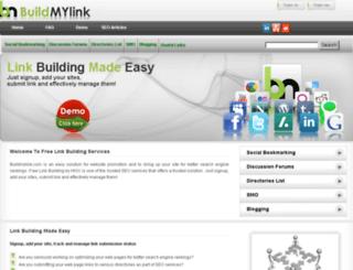buildmylink.com screenshot