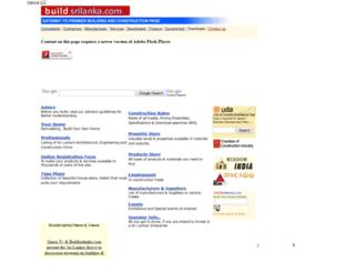 buildsrilanka.com screenshot