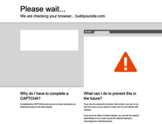 buildyoursite.com screenshot