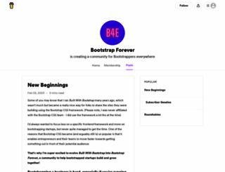builtwithbootstrap.com screenshot