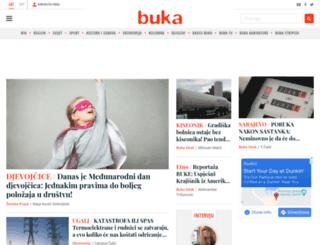 buka.ba screenshot