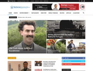 bukhariancommunity.com screenshot
