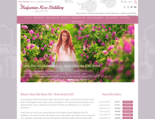 bulgarianroseotto.com screenshot