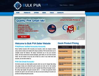 bulkpvaseller.us screenshot