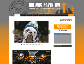 bulldoghavennw.org screenshot