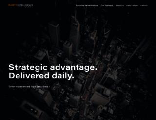 bulletinintelligence.com screenshot