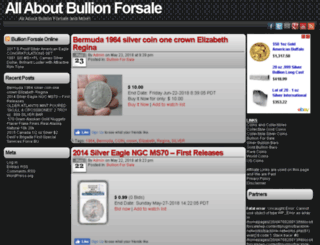 bullion-forsale.coins-n-collectibles.com screenshot