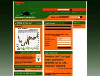 bullishinvestor.com screenshot