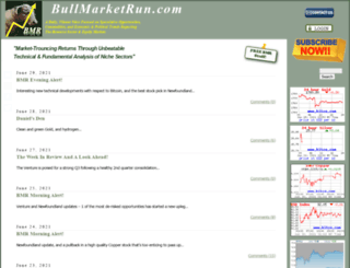 bullmarketrun.com screenshot