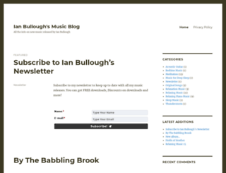 bulloughs.org.uk screenshot