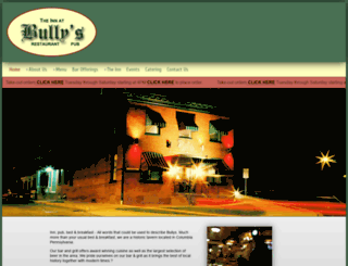 bullys-restaurant.com screenshot