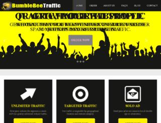 bumblebeetraffic.com screenshot