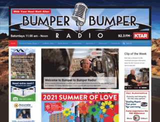 bumpertobumperradio.com screenshot