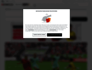 bundesliga.de screenshot