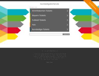 bundesligakarten.de screenshot