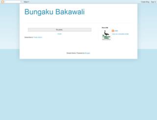 bungakubakawali.blogspot.com screenshot