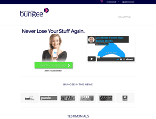 bungeetags.com screenshot