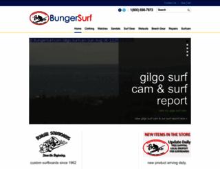 bungersurf.com screenshot