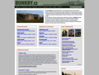 bunkry.cz screenshot