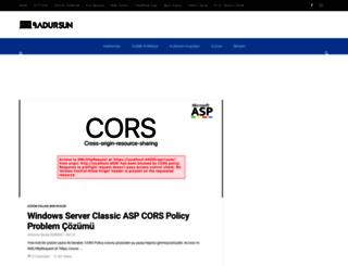 burakdursun.com screenshot