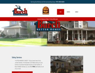 burchbetterhomes.com screenshot