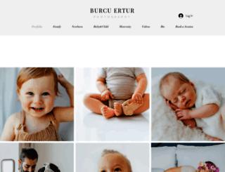 burcuertur.com screenshot