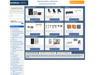 bureaudepot.fr screenshot