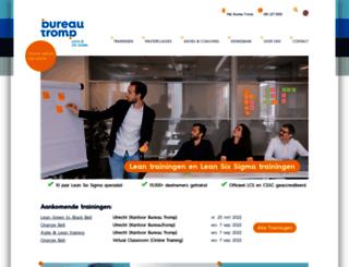 bureautromp.nl screenshot