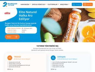 burganyatirim.com.tr screenshot
