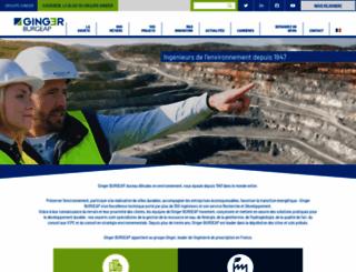 burgeap.fr screenshot