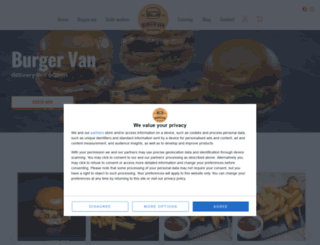 burgervan.ro screenshot