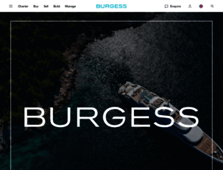 burgessyachts.com screenshot
