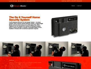burglarblaster.com screenshot