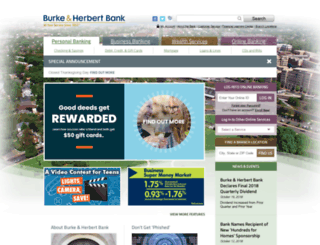 burkeandherbert.com screenshot