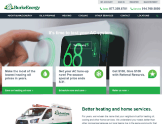 burkeenergy.com screenshot