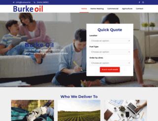 burkeoil.ie screenshot