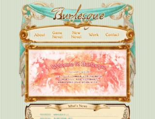 burlesque.work screenshot