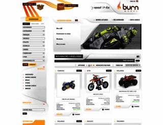 burn-model.com screenshot