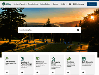 burnaby.ca screenshot