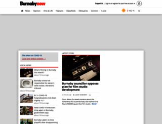 burnabynow.com screenshot