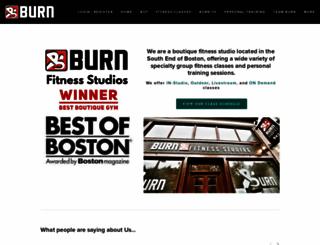burnfitboston.com screenshot